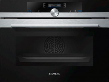Siemens iQ700 Kompaktbackofen CB635GBS3, Einbau, Edelstahl