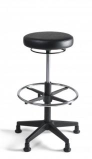 A&K 10.000 Home Collection Seat H7052 Arbeitsstuhl, schwarz