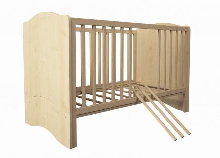 Kombi-Kinderbett Polini 140x70cm weiß - Vorschau 4