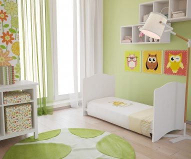 Kombi-Kinderbett Polini 140x70cm weiß - Vorschau 3