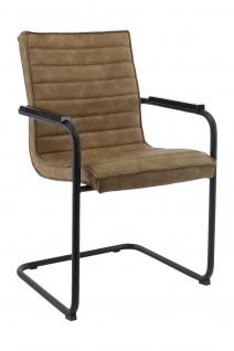 A&K 10.000 Home Collection Seat M7046 Konferenzstuhl, Cognac