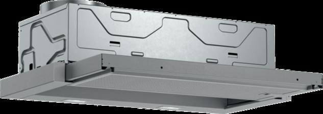 Bosch DFL064A52 Serie   4 Flachschirmhaube, 60 cm, Silbermetallic