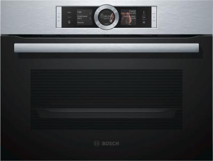 Bosch CSG636BS3 Kompaktdampfbackofen Serie 8