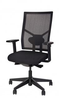 A&K 10.000 Home Collection Seat 7000 ergonomischer Bürostuhl Schwarz