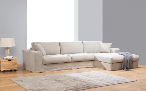 Primavera Sofa Edmonton, Weiß, L-Form