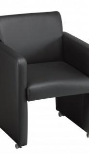 A&K 10.000 Home Collection Seat M7068 Meeting-Stuhl, schwarz