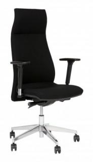 A&K 10.000 Home Collection Seat 7083 ergonomischer Bürostuhl, schwarz