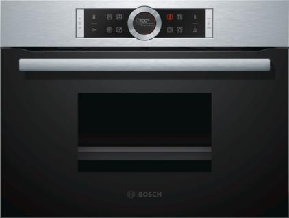 Bosch CDG634AS0 Dampfgarer Edelstahl Serie 8