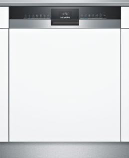 Siemens SN53HS55BE iQ300, Teilintegrierter Geschirrspüler, 60 cm, Edelstahl