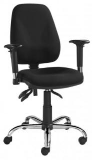 A&K 10.000 Home Collection Seat 7082 ergonomischer Bürostuhl, schwarz
