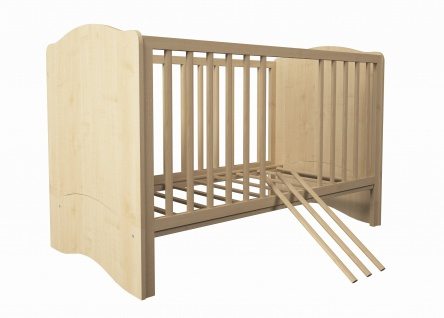 Kombi-Kinderbett Polini 140x70cm natur - Vorschau 5