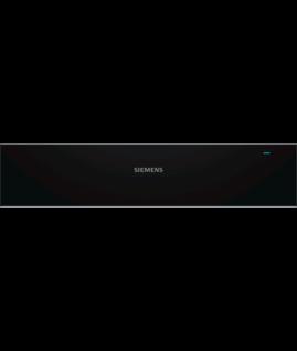 Siemens Wärmeschublade iQ500 BI510CNR0 Schwarz, Edelstahl