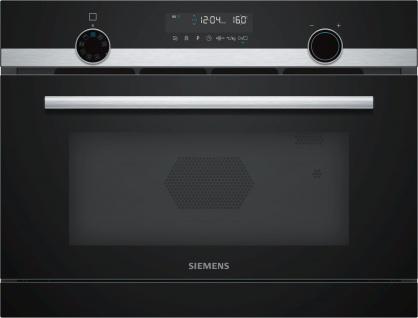 Siemens CP565AGS0 iQ500 Einbau-Mikrowelle mit Dampfgarfunktion Edelstahl