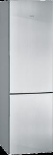 Siemens KG39VVIEA iQ300, Freistehende Kühl-Gefrier-Kombination mit Gefrierbereich unten 201 x 60 cm Edelstahl antiFingerprint
