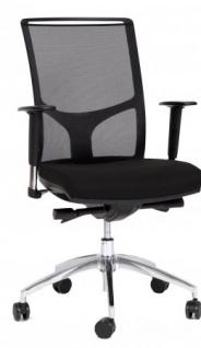 A&K 10.000 Home Collection Seat 7080 ergonomischer Bürostuhl, schwarz