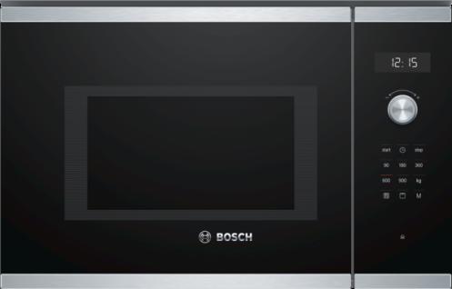 Bosch BEL554MS0 Einbau-Mikrowellengerät 38er Nische Edelstahl