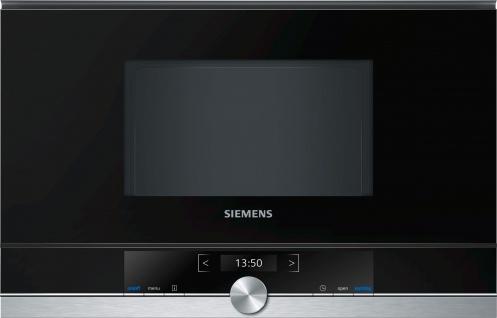 Siemens iQ700 Einbau-Mikrowelle Edelstahl BF634RGS1