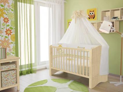 Kombi-Kinderbett Polini 140x70cm natur