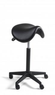 A&K 10.000 Home Collection Seat S7057 Sattelhocker, schwarz