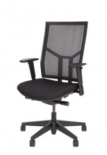 A&K 10.000 Home Collection Seat 7006 ergonomischer Bürostuhl Schwarz