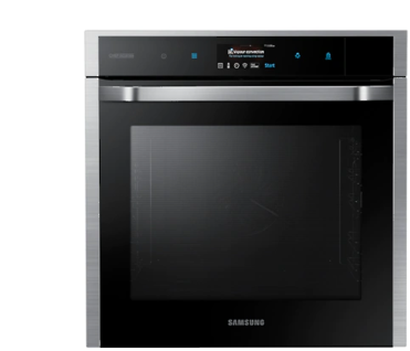 Samsung Einbaubackofen 60cm, 73 l, NV73M9770BS/EG Gourmet Vapour