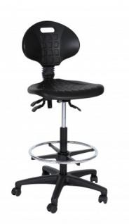 A&K 10.000 Home Collection Seat H7088 Arbeitshocker, schwarz