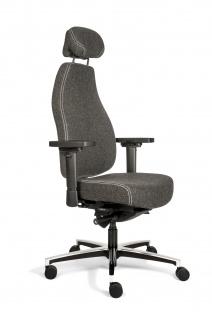 A&K 10.000 Home Collection Seat T7036 ergonomischer Bürostuhl, Kopfstütze