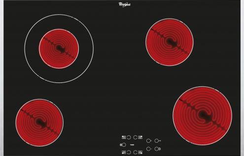 Whirlpool Glaskeramik-Kochfeld AKT8330LX, 77 cm