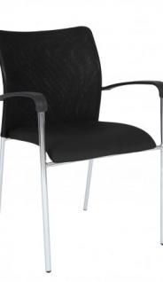 A&K 10.000 Home Collection Seat M7065 Meeting-Stuhl, schwarz
