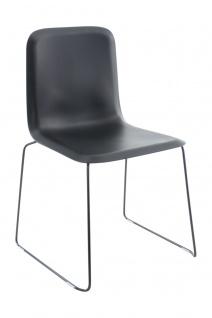 A&K 10.000 Home Collection Seat E7040 Empfangsstuhl, Schwarz