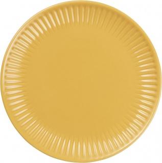 Frühstücksteller, Brotteller MYNTE MUSTARD gelb D. 19, 5cm Ib Laursen