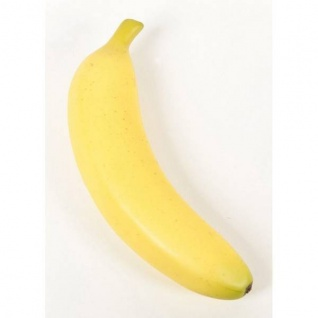künstliche Banane L. 20cm gelb Emerald Früchte