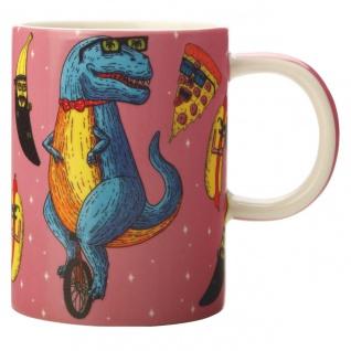 Becher Tasse Mulga the Artist Trex Dino 450ml Maxwell & Williams