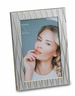 Fotorahmen, Bilderrahmen WELLEN silber gold für 10x15cm Metall Formano