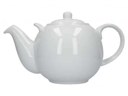 Teekanne London Pottery Globe weiß für 3000ml Keramik Creative Tops