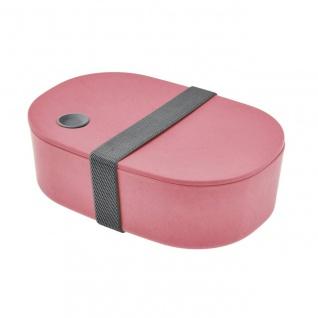 Lunchbox, Brotdose oval rot cm Magu NATUR DESIGN WA