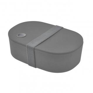 Lunchbox, Brotdose oval schiefer grau cm Magu NATUR DESIGN WA