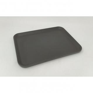 Serviertablett, Tablett, Bambus schiefer grau schwarz 27X21cm Magu NATUR DESIGN