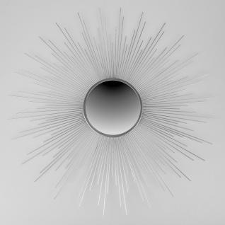 Wandspiegel, Wanddeko MIRROR CHROM STRAHLEN D. 70cm Metall + Acryl Formano