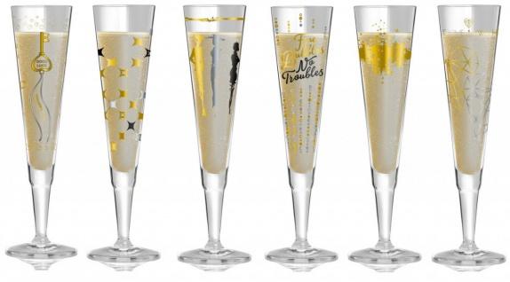 6er SET Champagnergläser CHAMPUS Alle Motive Herbst 2018 Ritzenhoff