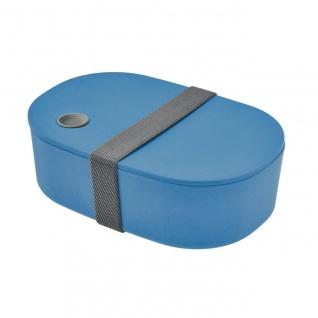Lunchbox, Brotdose oval new blue blau cm Magu NATUR DESIGN
