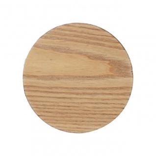 4er Set Glasuntersetzer Naturals Wood D. 10cm Holz Creative Tops