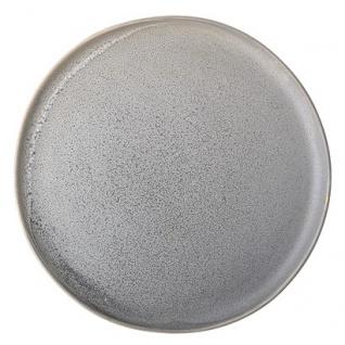 Speiseteller, Essteller Kendra D. 25cm grau Keramik rund Bloomingville