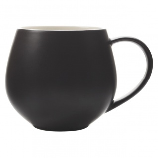 Becher, Tasse BASICS TINT SNUG schwarz 450ml Porzellan Maxwell & Williams