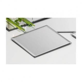 12er Set Spiegelplatte, Dekospiegel Tischspiegel 18x18cm quadratisch Sandra Rich