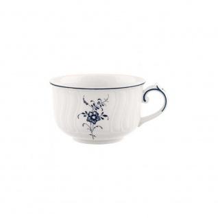 Villeroy & Boch VIEUX LUXEMBOURG Teetasse 200ml weiß blau Porzellan