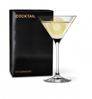 Ritzenhoff COCKTAIL Martiniglas, Cocktailglas, Circle by Vé ronique Jacquart 2019