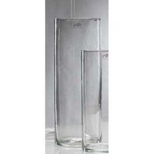 zylinder Glasvase, Dekoglas CYLI rund H. 50cm Ø 15cm klar Sandra Rich