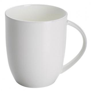 Becher, Tasse CASHMERE VILLA 400ml weiß rund Porzellan Maxwell & Williams
