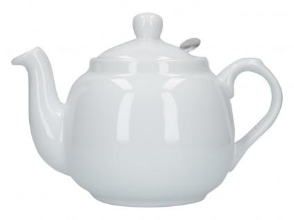Teekanne London Pottery Farmhouse weiß 1300ml Keramik Creative Tops